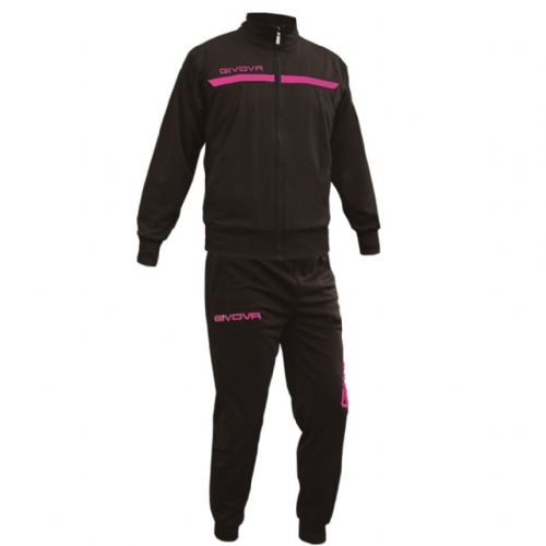 Tuta Givova One Full Zip black & pink